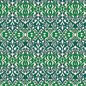 Two Toned Green Warp Out