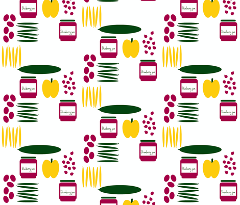 farmer's jam fabric by hurryhome on Spoonflower - custom fabric