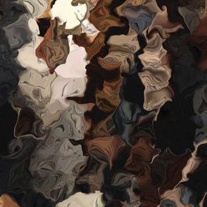 Crape Myrtle Bark in Fractals