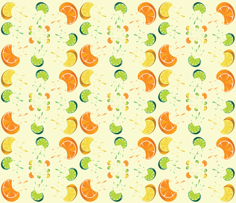 Citrus fabric by popstationery&gifts on Spoonflower - custom fabric