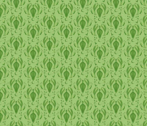 Farmer's Market Damask fabric by crowlands on Spoonflower - custom fabric