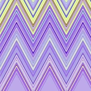 Purple and Yellow Chevron