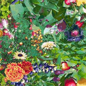Farmer's Market Bounty Garden
