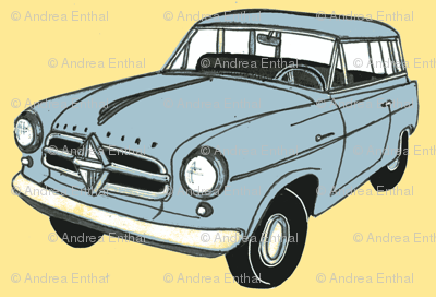 1950's Borgward station wagon from Germany