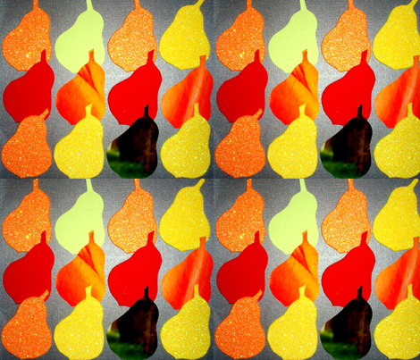 juicy pears fabric by livingstones on Spoonflower - custom fabric