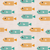 cubist fish