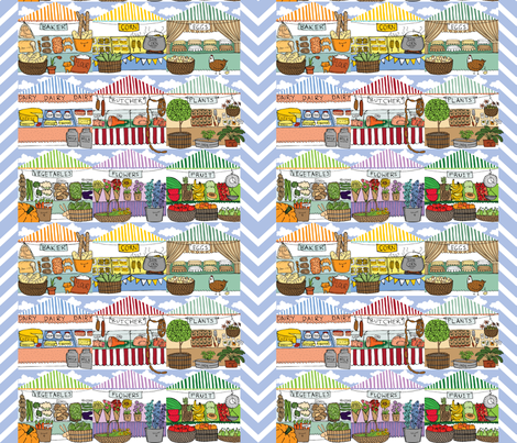 to market... to market fabric by laura_the_drawer on Spoonflower - custom fabric