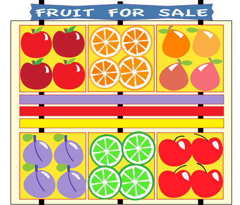 SOOBLOO__FRUITS_GALORE-8-1-01 fabric by soobloo on Spoonflower - custom fabric