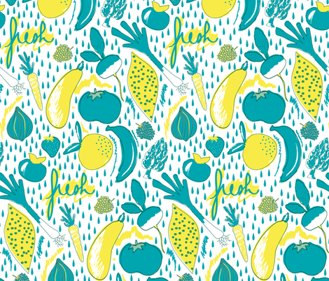 Fresh Market fabric by demigoutte on Spoonflower - custom fabric