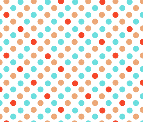 Polka Dot Charm fabric by karenharveycox on Spoonflower - custom fabric