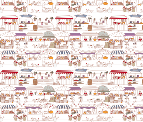outdoor pursuits fabric by zapi on Spoonflower - custom fabric