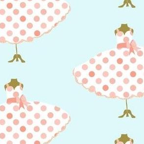 Pink Polka Dot Frock