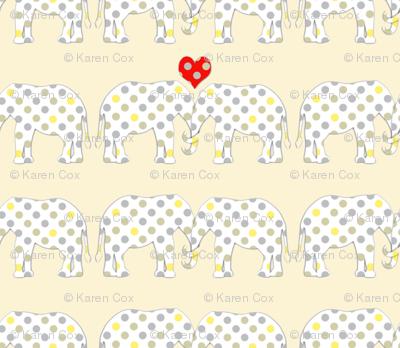 Polka Dot Elephants