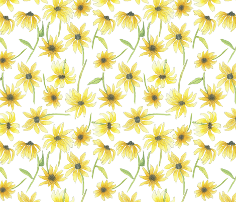 farmers market flowers fabric by jeannemcgee on Spoonflower - custom fabric
