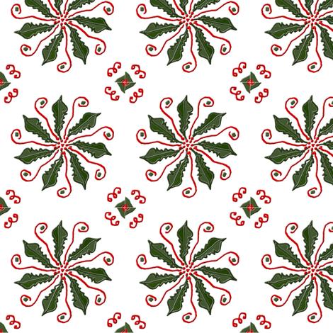 Christmas Pinwheel fabric by ravynscache on Spoonflower - custom fabric