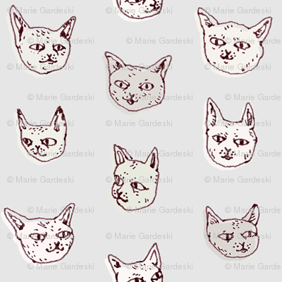 Gritty Kitties | Shades of Grey