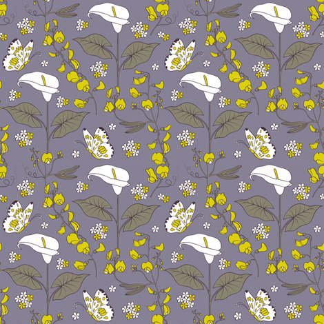 Midsummer night's dream fabric by kiyanochka on Spoonflower - custom fabric