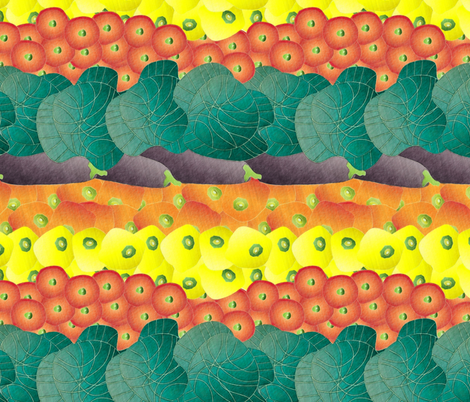 vegetable stall fabric by kociara on Spoonflower - custom fabric