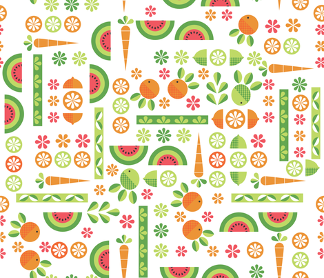 Country Market fabric by deeniespoonflower on Spoonflower - custom fabric