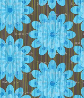 zinnia blue