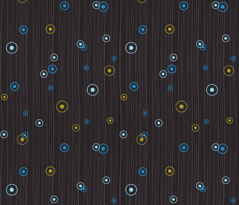 glow blue fabric by cjldesigns on Spoonflower - custom fabric