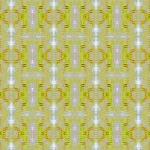 Yellow Ikat 1