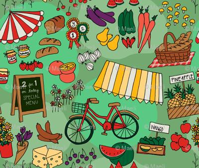 green farmer market