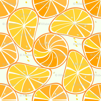 orange-tangerine slices
