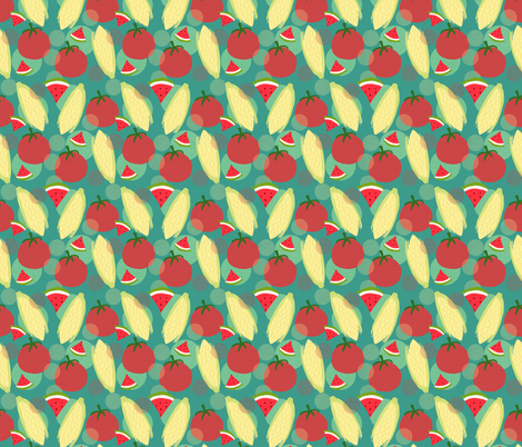 Sweet Taste of Summer fabric by arttreedesigns on Spoonflower - custom fabric