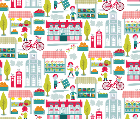 4th Saturday of the Month fabric by ebygomm on Spoonflower - custom fabric