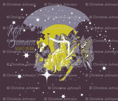 Midsummer night's dream fairies