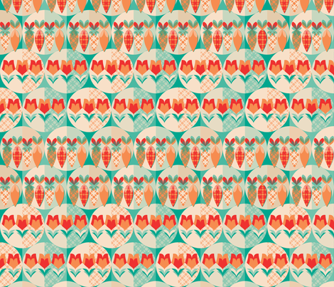 MarketGarden fabric by paula's_designs on Spoonflower - custom fabric