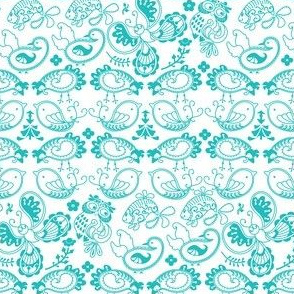 Farm Paisley Pattern
