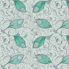 feathers_spoonflower