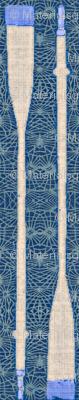 Oars & Nets - indigo & royal blue