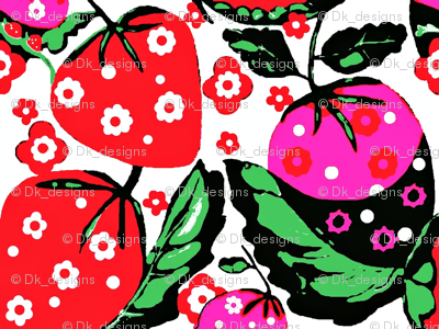 strawberry bunch 5