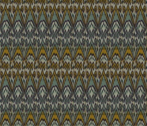 Moroccan Ikat fabric by ragan on Spoonflower - custom fabric