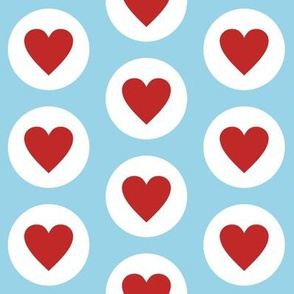 Fresh Polka Hearts