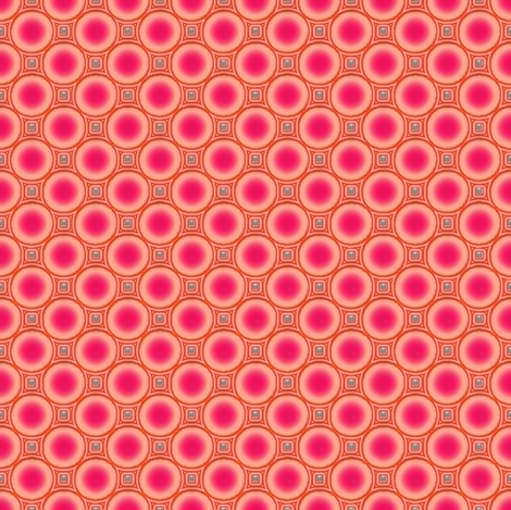 luminous peaches fabric by keweenawchris on Spoonflower - custom fabric