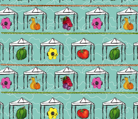 Market Fresh  fabric by moxieart on Spoonflower - custom fabric