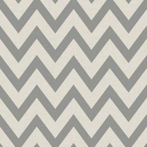 Chevronie Linen {GreyGoose}