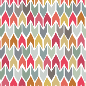 cool beach house ikat chevron large