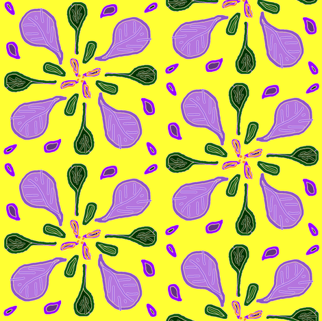 Spring Flowers fabric by ravynscache on Spoonflower - custom fabric