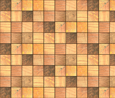 Light Oak Parquet fabric by callioperosehandcarjones on Spoonflower - custom fabric