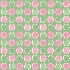 Retro Tile Green Colourway