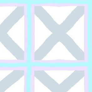Gray Lattice Flags