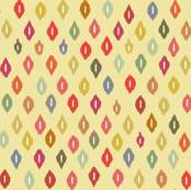 beach house ikat diamonds