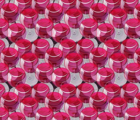 wineglasses never end ON PURPLE fabric by glimmericks on Spoonflower - custom fabric