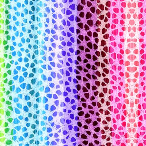 Rainbow Paws vertical stripe fabric by edsel2084 on Spoonflower - custom fabric