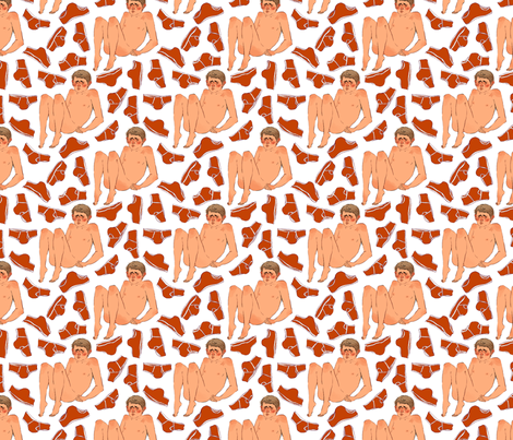 Watson fabric by mob on Spoonflower - custom fabric